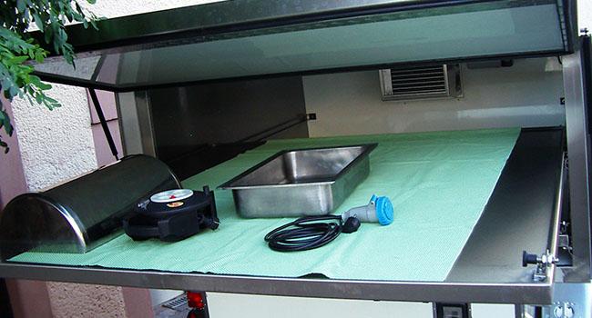 Kühlfahrzeuginnenraum